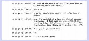 Apollo 15 transcript