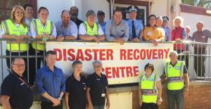 Chaplains at Coolah Bushfire Recovery Centre